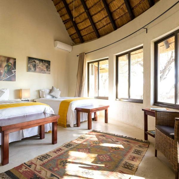 nDzuti Safari Camp Suite Bedroom