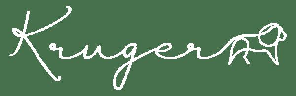 Kruger Logo Short White