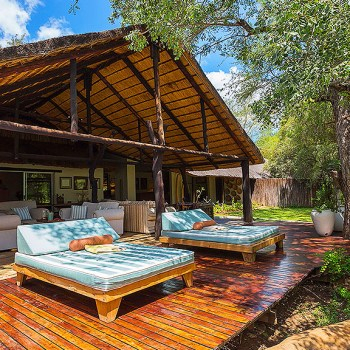 Chapungu Luxury Tented Camp Accommodation Exterior