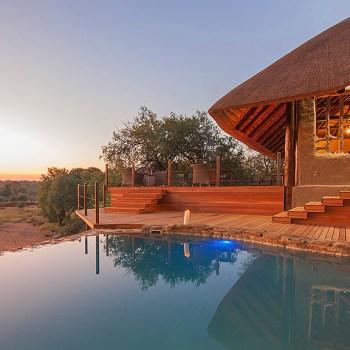 Garonga Safari Camp Main Entrance