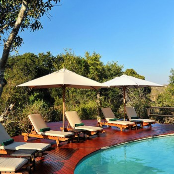 Hamiltons Tented Camp Pool Seating