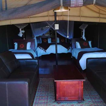 Honeyguide Mantobeni Camp Family Tent