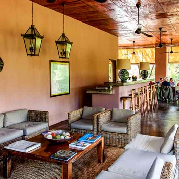 Honeyguide Mantobeni Guest Lounging and Dining Area