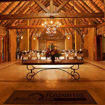 Kapama River Lodge Main Entrance