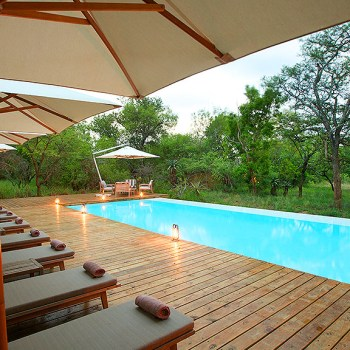 Kapama Southern Camp Pool Area