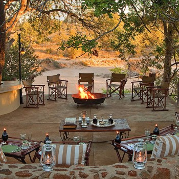 Kings Camp Fire Pit Area
