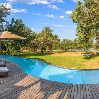 Makanyi Private Game Lodge Pool Area