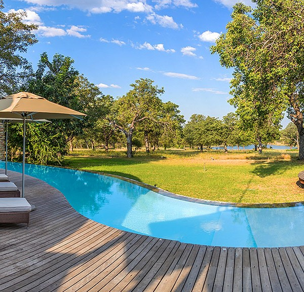 Makanyi Private Game Lodge Pool Area