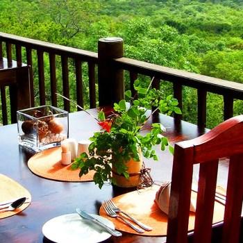 Manyatta Rock Camp Outdoor Dining