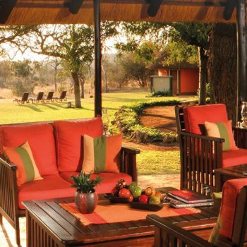 Mohlabetsi Safari Lodge Suite Verandah