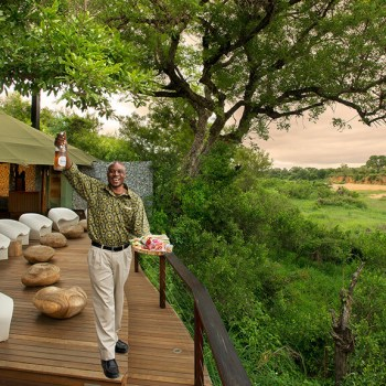 Ngala Tented Camp Deck View