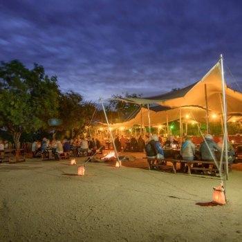 Nkambeni Safari Camp Boma Dining