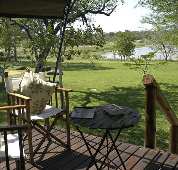 Nkelenga Tented Camp Tent Deck