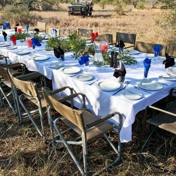 Nthambo Tree Camp Bush Dining