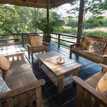 Sefapane River Lodge Deck