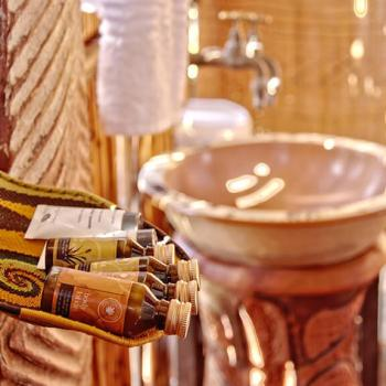 Shindzela Tented Safari Camp Bathroom Amenities
