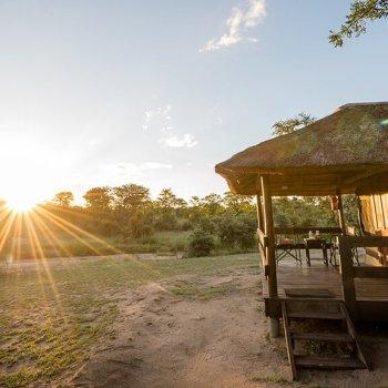 Shindzela Tented Safari Camp Safari Tent Exterior