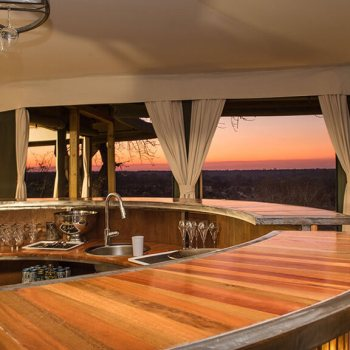 Simbavati Hilltop Lodge Bar
