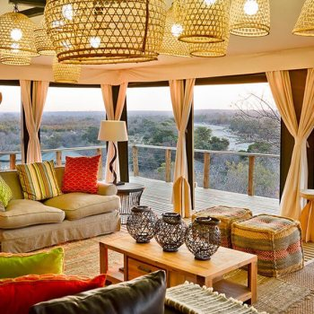 Simbavati Hilltop Lodge Lounge