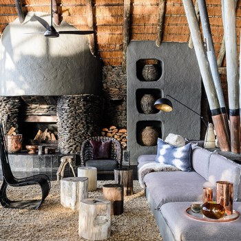 Singita Boulders Lodge Lounge Area