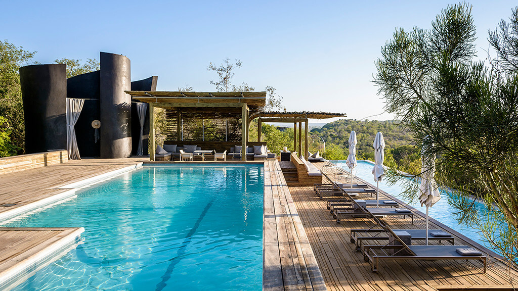 Singita Lebombo Lodge Pool Deck