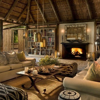 Tanda Tula Safari Camp Lounge Area