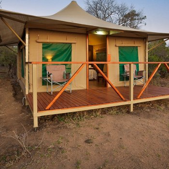 Tangala Safari Camp Safari Tent Exterior