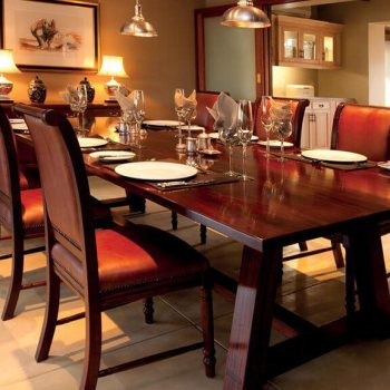 Waterbuck Private Camp Dining Table