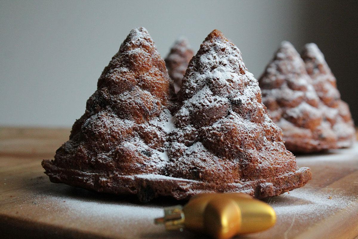 carrotcake in kerststijl