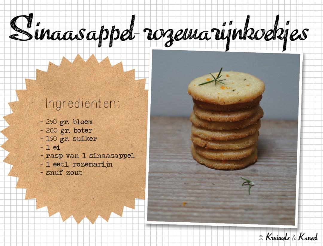 rozemarijnkoekjes met sinaasappel