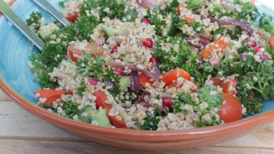 tabouleh met geroosterde groentes