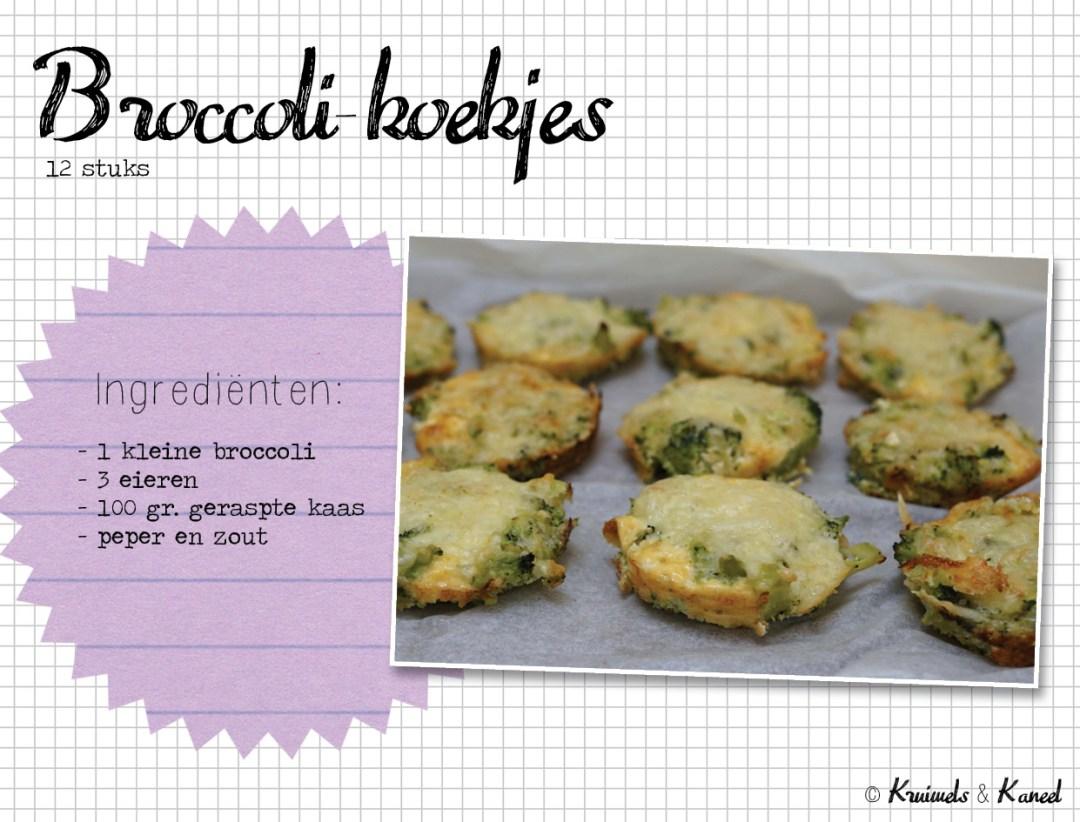 broccoli koekjes
