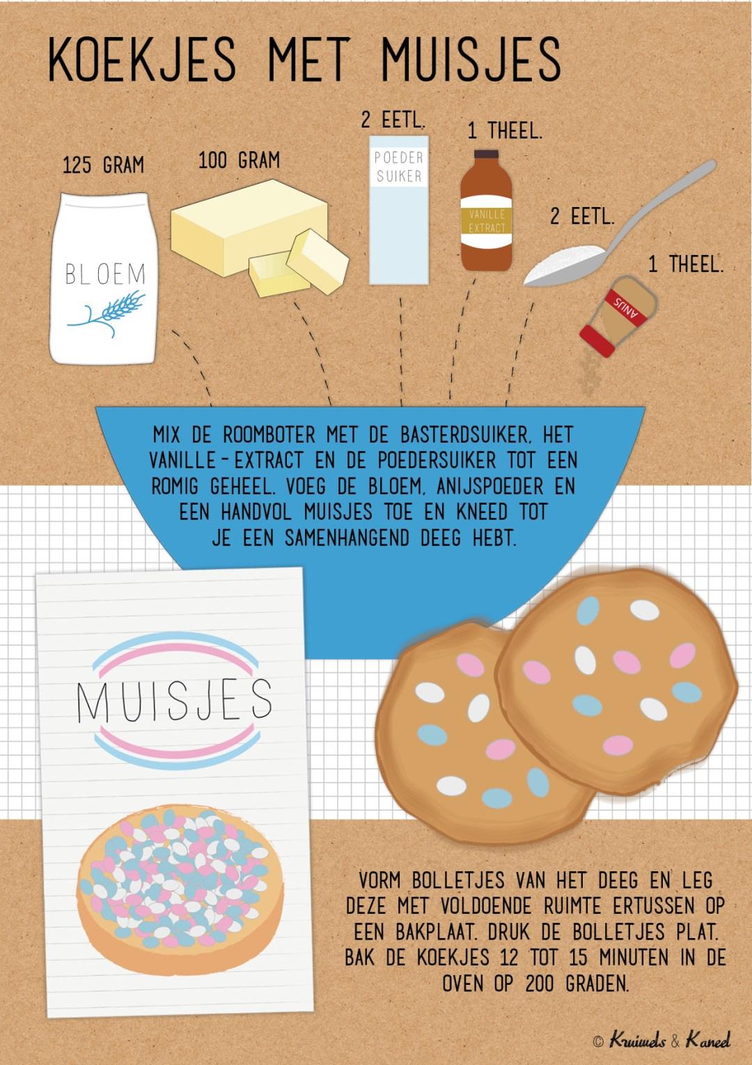 koekjes met muisjes