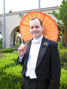 Kyle with Parasol