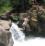 toland jumping off lower falls