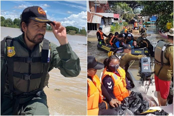 คุณครู จ.หนองบัวลำภู รวมกลุ่มเล่นดนตรีเปิดหมวก รับบริจาคช่วยเหลือผู้ประสบภัยน้ำท่วม จ.อุบลราชธานี