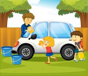 เด็กล้างรถ