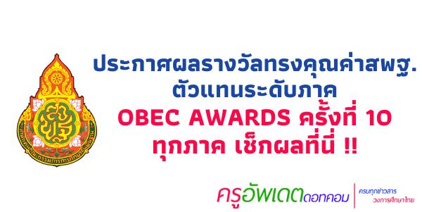 OBEC AWARDS 2563