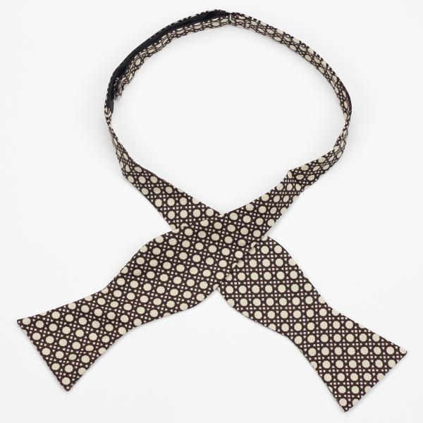 Bronzeville self tie bow tie