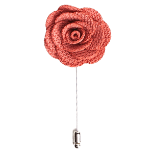 Blush Pink Rose Lapel Flower Pin