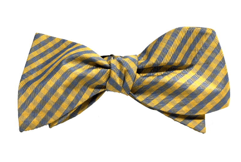 Chicago-based Kruwear self-tied bow tie