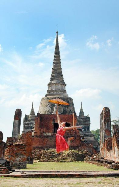 Ayutthaya jump