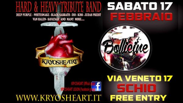 Kryosheart live @ Bollicine