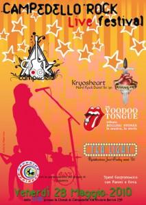 KRYOSHEART live @ Campedello Rock Festival 2010