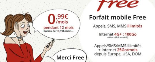 [BON PLAN] Vente privée  Free Mobile Offre Mobile à 0€99 (MàJ)