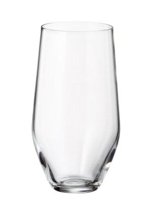 Michelle Krystalglas Ølglas – 6 stk