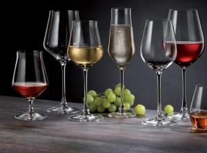 Portvin, Rose og Champagne