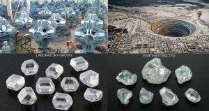 Lab Diamonds Vs Earth Mine Diamonds