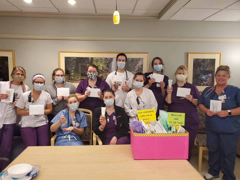 Saratoga Hospital Care Campaign Thank You