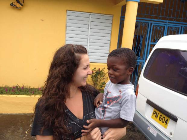 Mommy & Aiden in Grenada